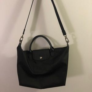 Longchamp Le Pliage Neo Tote Medium Black
